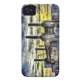 Battersea Power Station London Art iPhone 4 Case-Mate Case