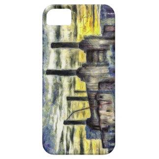 Battersea Power Station London Art iPhone SE/5/5s Case