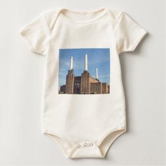 Battersea Power Station London England Baby Bodysuit