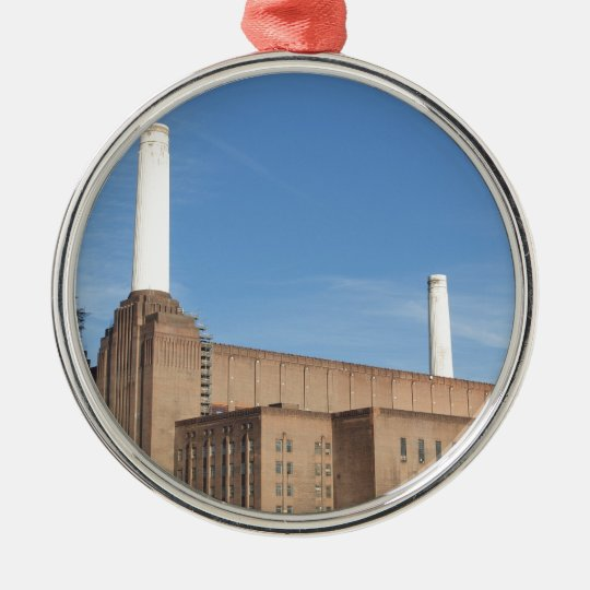 Battersea Power Station London England Metal Ornament
