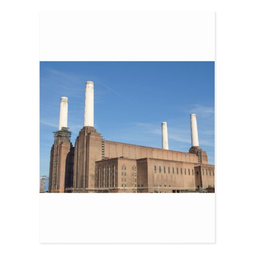 Battersea Power Station London England Post Card