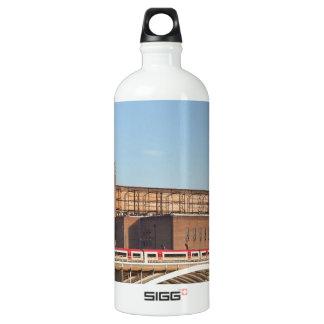 Battersea Power Station London England Water Bottle