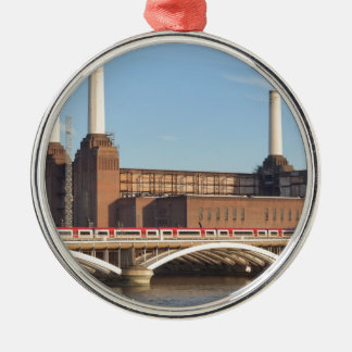 Battersea Power Station London Metal Ornament