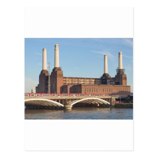 Battersea Power Station London Postcard