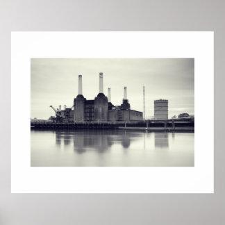 Battersea Power Station, London Poster