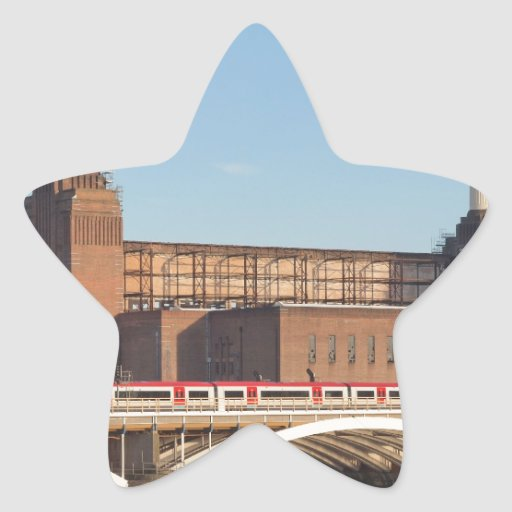 Battersea Power Station London Star Sticker
