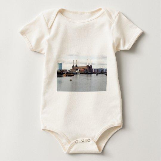 Battersea Power Station, London, UK Baby Bodysuit