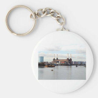 Battersea Power Station, London, UK Keychain