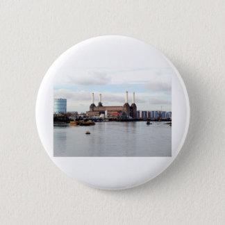 Battersea Power Station, London, UK Pinback Button