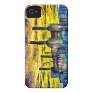Battersea Power Station Sunset Art iPhone 4 Case-Mate Case