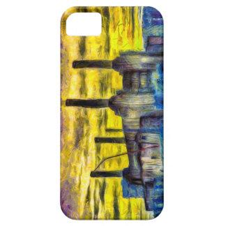 Battersea Power Station Sunset Art iPhone SE/5/5s Case