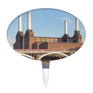Battersea Powerstation Cake Topper