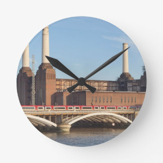 Battersea Powerstation Round Clock