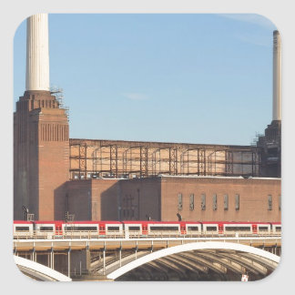 Battersea Powerstation Square Sticker