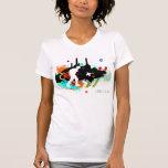 Battersea/reversible del bailarín camisetas