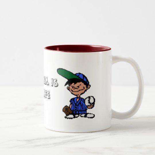 Batterup Two-Tone Coffee Mug