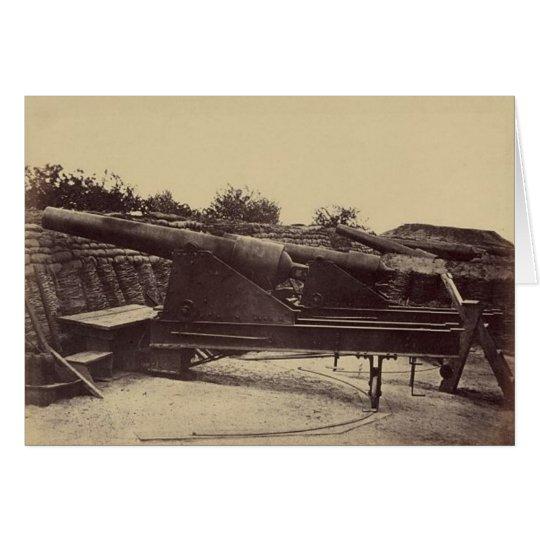 Battery 1, Yorktown, Virginia, May 1862 Card