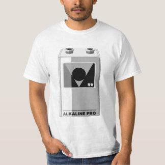 Battery - 9 Volt or Nerd Wear T-Shirt