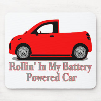 Battery Car Mouse Pad