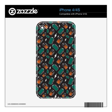 battery charging decal for iPhone 4