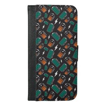 battery charging iPhone 6/6s plus wallet case