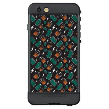 battery charging LifeProof NÜÜD iPhone 6s plus case