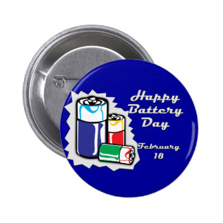 Battery Day February 18 Pins