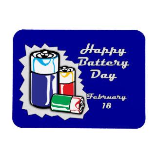 Battery Day February 18 Magnet