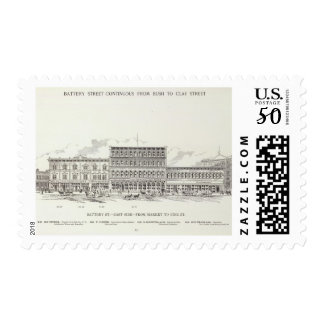 Battery East side Market and Pine Postage