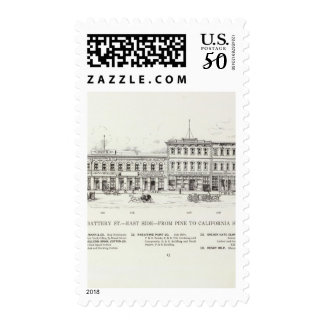 Battery East side Pine and California Postage