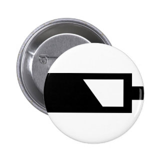 battery icon pinback button