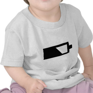 battery icon t shirts