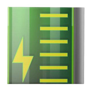 Battery Indicator Ceramic Tile