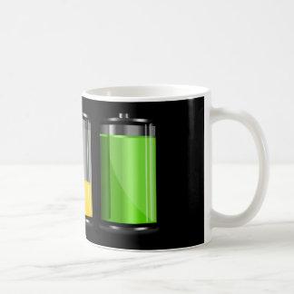 Battery Levels Coffee Mug