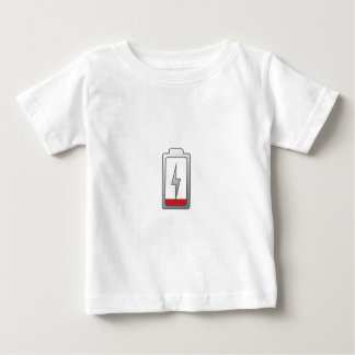 Battery Low! Baby T-Shirt