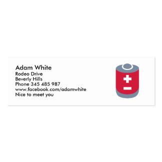 Battery Mini Business Card