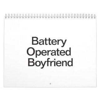 Battery Operated Boyfriend Wall Calendar
