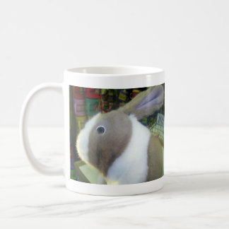 Battery Operated Bunny Toy Classic White Coffee Mug
