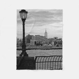 Battery Park City II Fleece Blanket