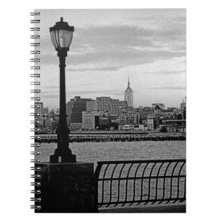 Battery Park City II Spiral Notebook