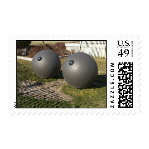 """Battery Park """"Eyes"""" Sculpture, New York, NY Postage Stamps"""