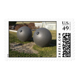 """Battery Park """"Eyes"""" Sculpture, New York, NY Stamp"""