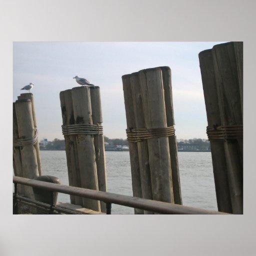 Battery Park - New York City Poster
