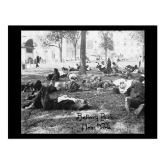 Battery Park - New York Postcard