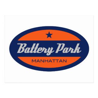 Battery Park Postcard