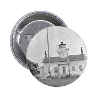 Battery Point Lighthouse Pinback Button