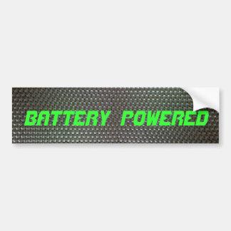 Battery Powered Bumper Sticker