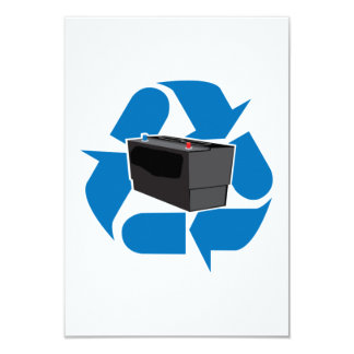Battery Recycling Card