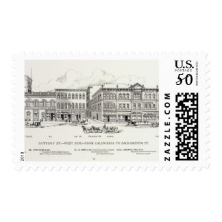 Battery West side California and Sacramento Postage