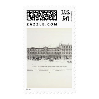 Battery West side Pine and California Postage